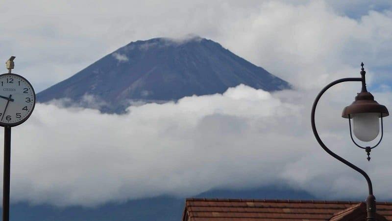 Mt Fuji Volcano