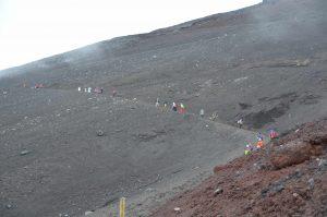 Side of Mt.Fuji