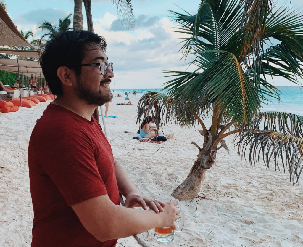 Me in Tulum Beach